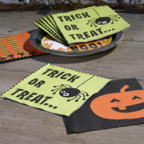 Happy Halloween Trick Or Treat Paper Napkins (20)